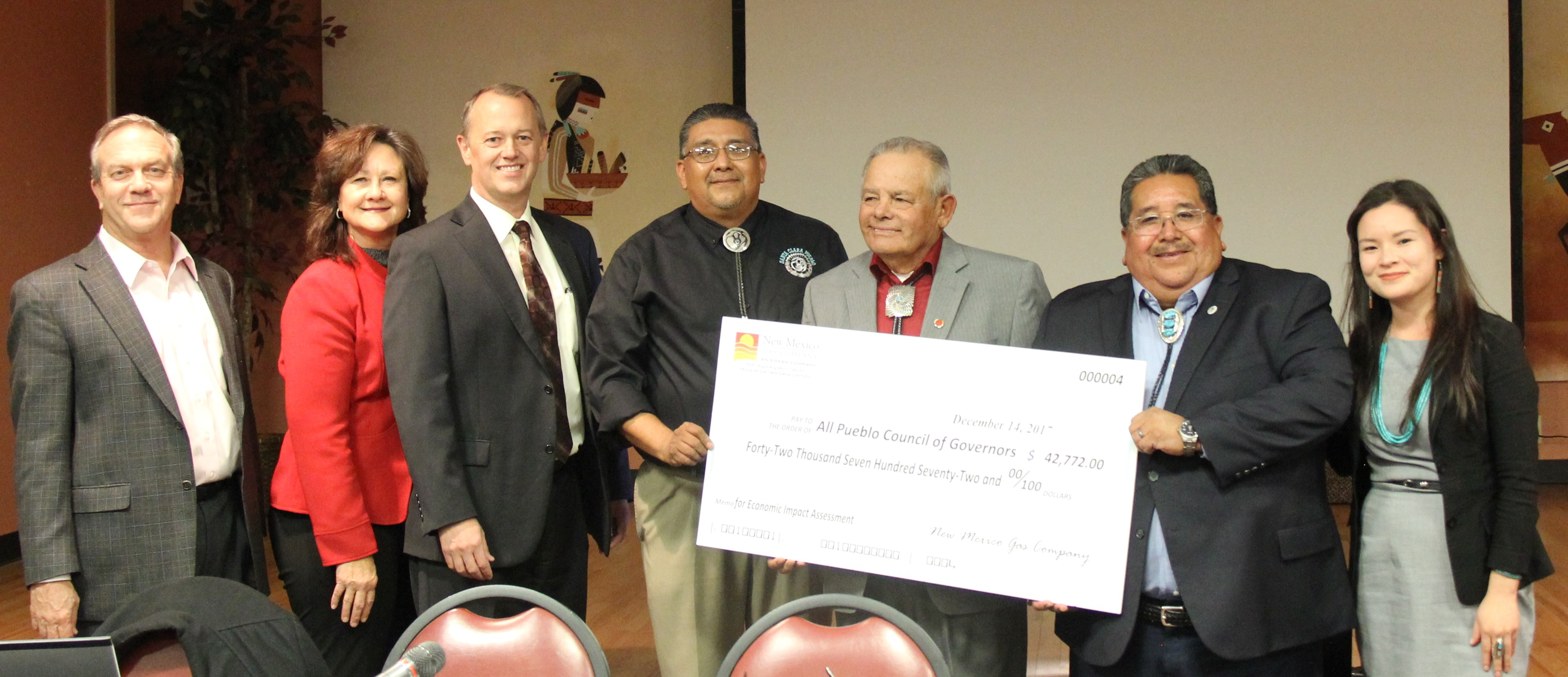 All Pueblo Council of Governors grant.