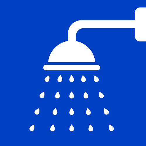Icon of a showerhead.